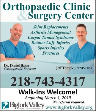 Orthopaedic Clinic & Surgery Center