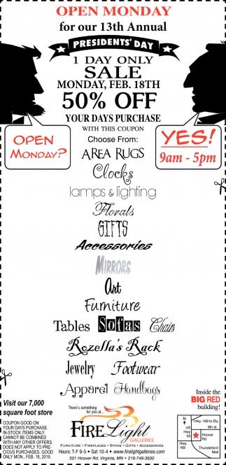 Open Monday