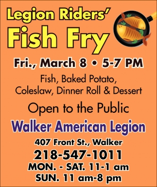 Legion Riders' Fish Fry