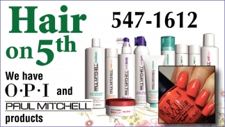 We Have OPI And Paul Mitchell Products
