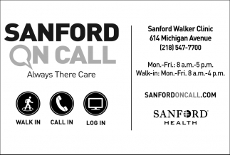 Sanford On Call Always There Care