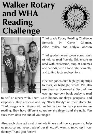 Rotary Reading Challenge