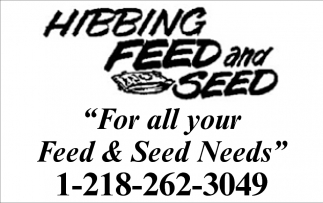 For All Your Feed & Seed Needs