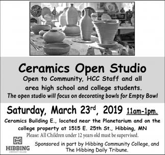 Ceramics Open Studio