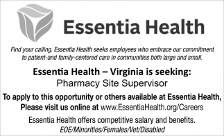 Pharmacy Site Supervisor