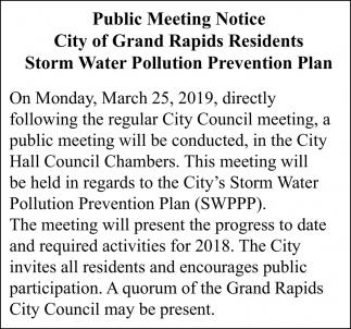 Public Meeting Notice