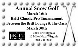 Annual Snow Golf