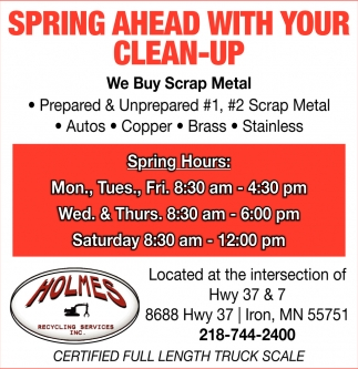 Spring Ahead With Your Clean-Up