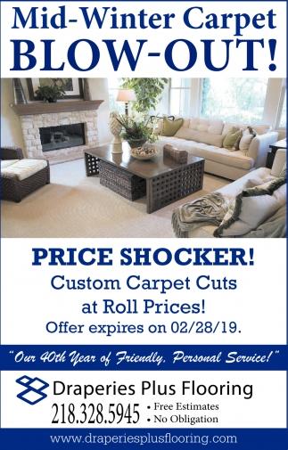 Price Shocker!
