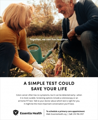 A Simple Test Could Save Your Life