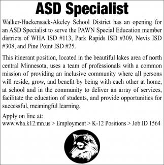 ASD Specialist