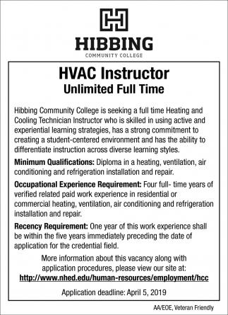 HVAC Instructor