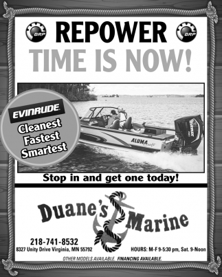 Repower Time Is Now!