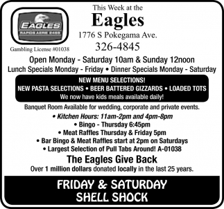 This Week At The Eagles