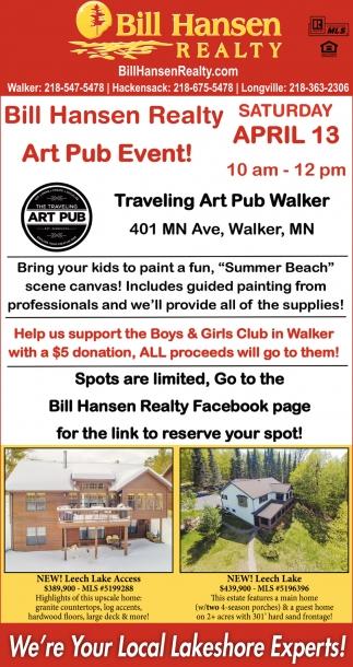 Art Pub Event!