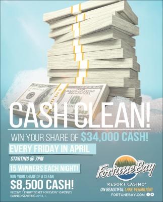 Cash Clean!