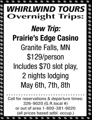 Prairie's Edge Casino