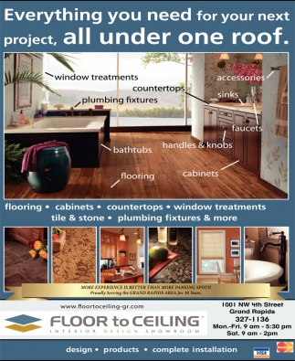 Everything You Need For Your Next Project, All Under One Roof.