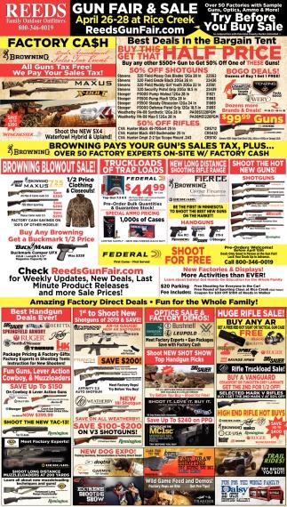 Gun Fire & Sale