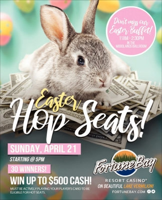 Easter Hop Seats!