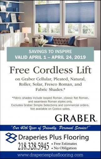 Free Cordless Lift