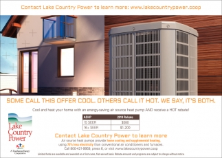 Contact Lake Country Power To Learn More