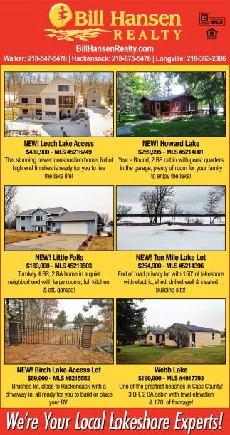 New! Leech Lake Access
