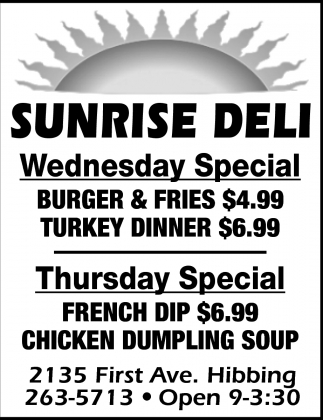 Wednesday & Tuesday Special