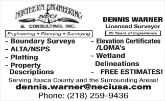 Dennis Warner Licensed Surveyor