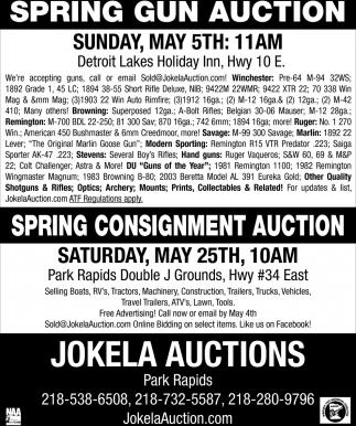Spring Gun Auction