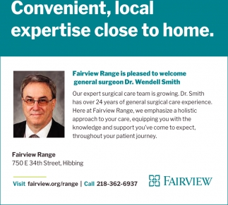 Convenient, Local Expertise Close To Home