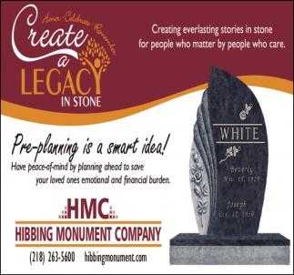 Create A Legacy