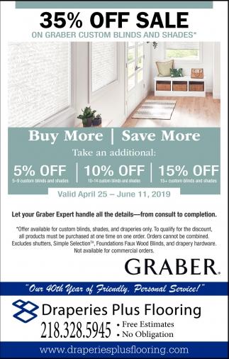 35% Off Sale