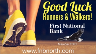Good Luck Runners & Walkers!