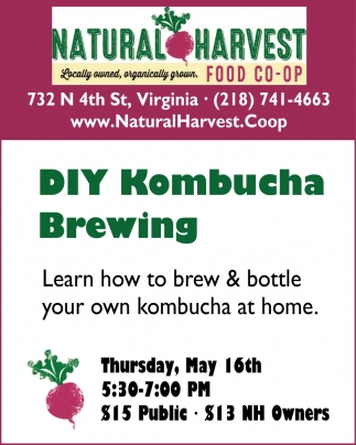DIY Kombucha Brewing