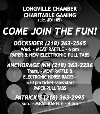 Charitable Gaming