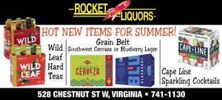 Hot New Items For Summer!