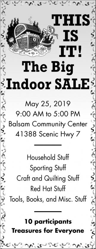 The Big Indoor Sale