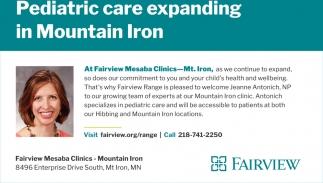 Pediatric Care Expanding