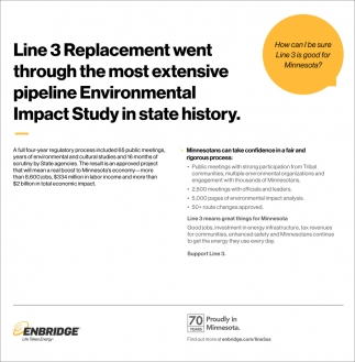 Line 3 Replacement Went Through The Most Expensive Pipeline Environmental Impact Study