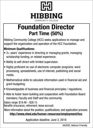 Foundation Director
