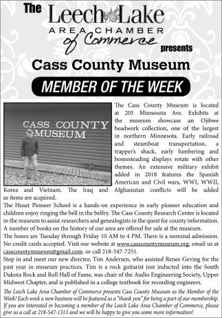 Cass County Museum