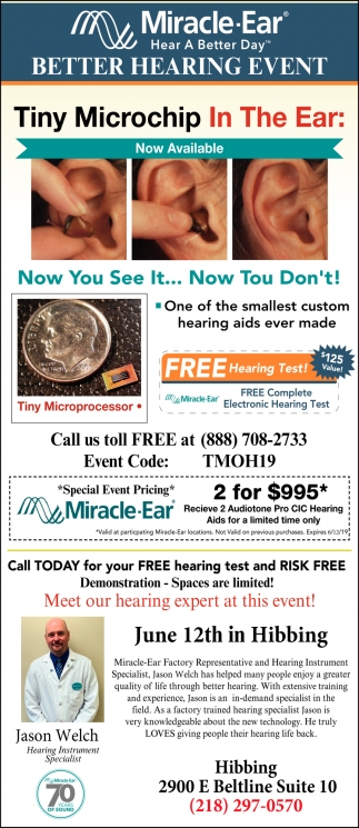 Tiny Microchip In The Ear
