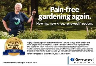Pain-Free Gardening Again