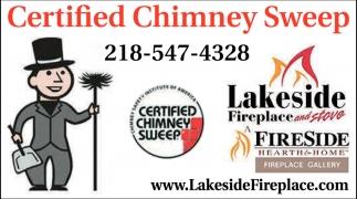 Certified Chimney Sweeping