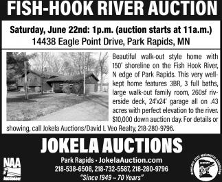Fish-Hook River Auction