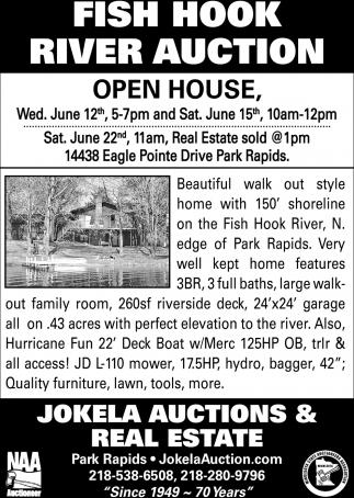 Fish Hook River Auction