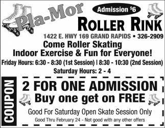 Come Roller Skating Indoor Exercise And Fun For Everyone