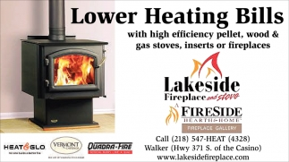 Lower Heating Bills