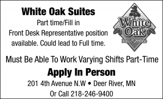 Apply In Person